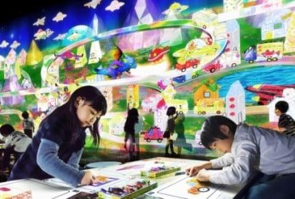 【イベントレポ】親子で最新デジタルテクノロジー×アートにふれよう!「チームラボアイランド -学ぶ!未来の遊園地-」