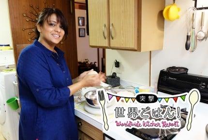 【突撃、世界ごはん!】日本でインドの家庭料理と住まいを体験!