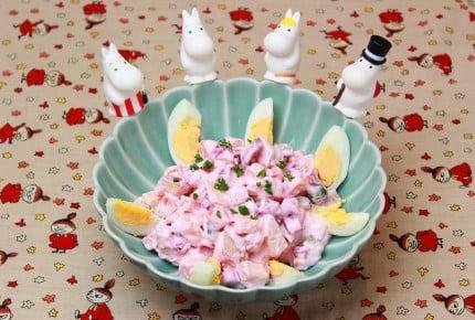 ピンクで可愛い!ムーミン屋敷の冬サラダ~北欧料理ロソッリ~