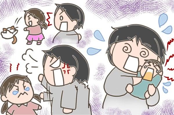 ママがイライラ「上の子かわいくない症候群」