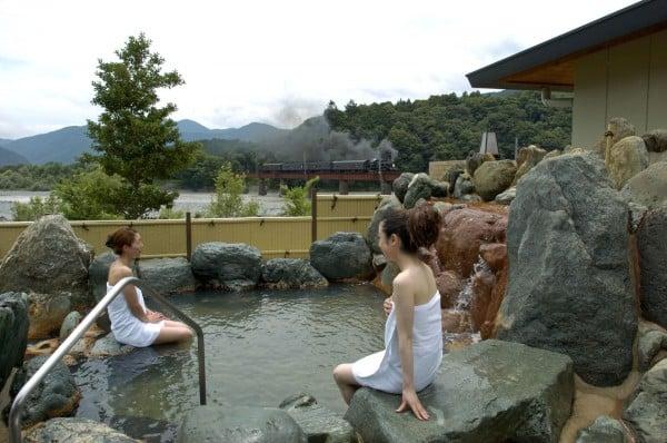 川根温泉ふれあいの泉(露天風呂)