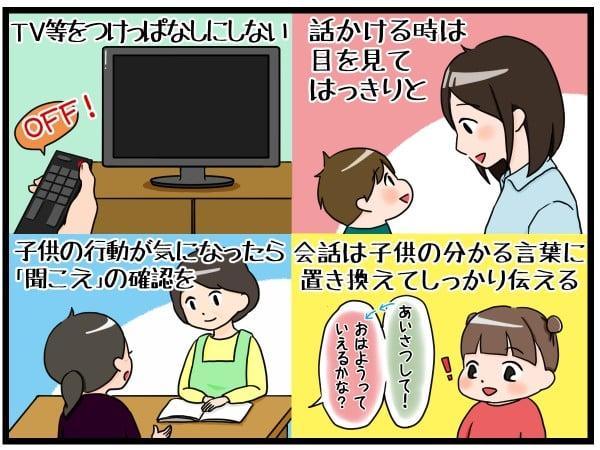 子供の「聞こえ」と騒音・雑音の関係③