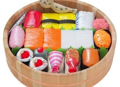 出産祝いギフト「おむつ寿司」シリーズに徳島県の名産にこだわった「おむつ寿司・匠(たくみ)」が新登場