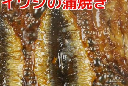 【レシピ動画】ごはんが進む!イワシの蒲焼き