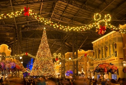 東京ディズニーランド、11月8日からクリスマス スペシャルイベントがスタート