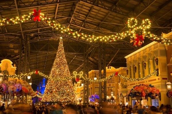 TDLクリスマスツリー