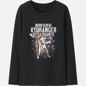 BOYS 宇宙戦隊キュウレンジャーヒートテックエクストラウォームクルーT(長袖)③