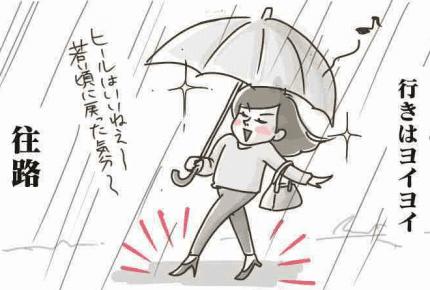 雨の日の大失敗で「九死に一生を得た」話  #産後に気がついたこと