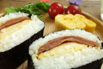 【レシピ動画】簡単美味しい!スパムおにぎらず!