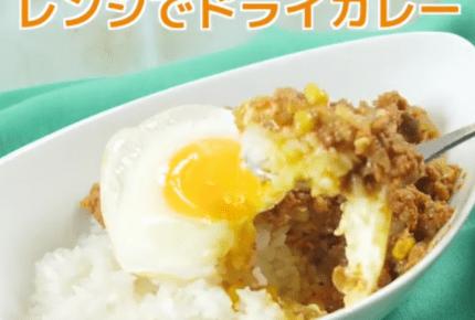 【動画レシピ】レンジで簡単!ドライカレー