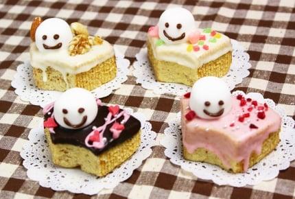 【バレンタインデコ】市販のバームクーヘンで友チョコ作り!