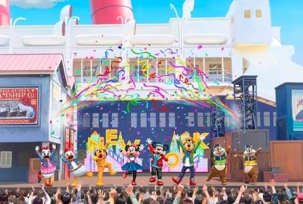 東京ディズニーシー「ドックサイドステージ」新ショーは「ハロー、ニューヨーク!」!35周年の記念グッズも販売