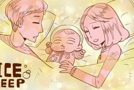 我が家の「寝かしつけコンボ」  #育児は大変で楽しい