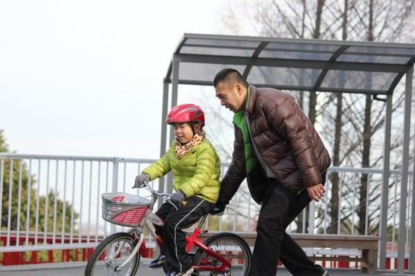 自転車に乗れない我が子。どうすればいい?