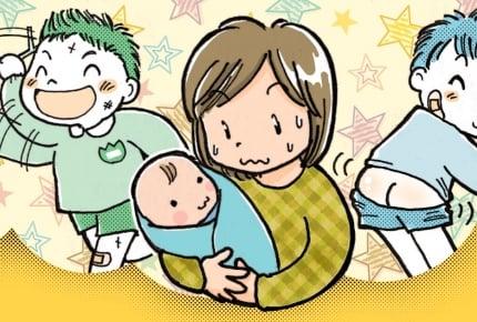 男の子育児は体力勝負!?男の子って何歳から大変になるの?