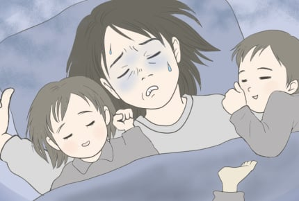 「ママも大の字で寝たい」家族の寝室事情とは