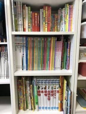 5歳と2歳の男児がいる我が家の本棚