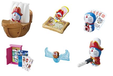 3月16日(金)からのハッピーセットは『ドラえもん』。『映画ドラえもん のび太の宝島』にちなんだおもちゃが登場!