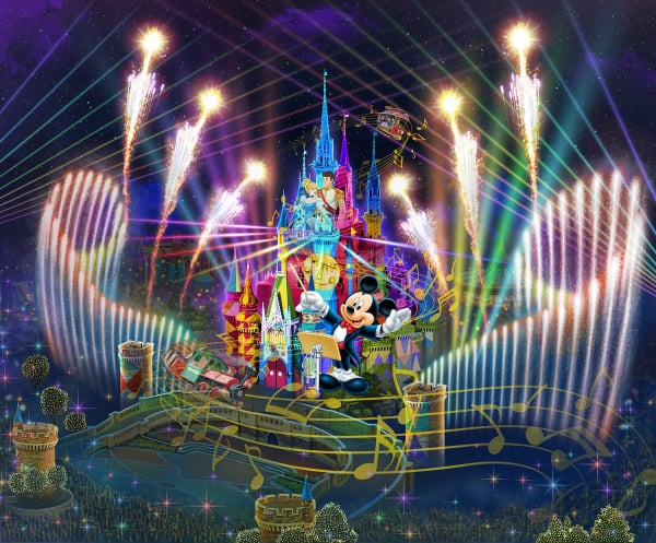 「Celebrate! Tokyo Disneyland」©Disney