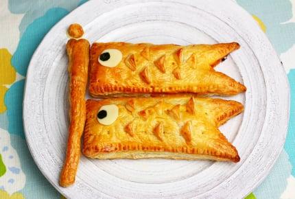 子どもの日レシピ!こいのぼりのミートパイ