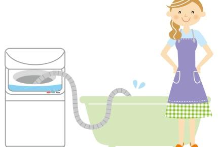 風呂の残り湯は雑菌が多い!?洗濯や掃除に再利用するメリット・デメリットとは