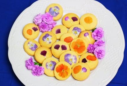母の日に贈りたい!自宅で簡単!エディブルフラワーのクッキー