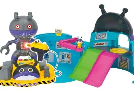 """バイキン基地でばいきんまんになりきって巨大メカを修理!10種類以上の""""ひみつ""""が隠されたおもちゃが登場"""
