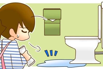 うちの娘だけ!?おしっこが飛び散って床がびちゃびちゃ……女の子のトイレ事情