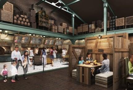 東京ディズニーシーに新レストラン「ドックサイドダイナー」が8月20日(月)よりオープン