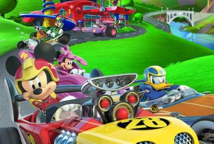 『ちいさなプリンセス ソフィア』が終了!7月1日からテレビ東京系「ディズニー・サンデー」で『ミッキーマウスとロードレーサーズ』がはじまるよ!