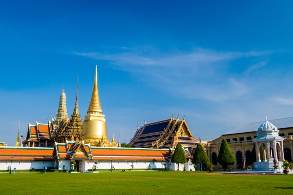 The famous royal emerald temple from Bangkok