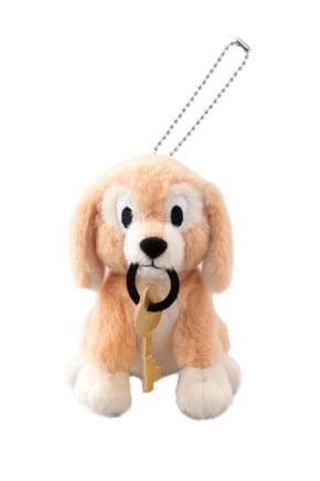 「カリブの海賊」の 鍵をくわえた犬  ぬいぐるみバッジ 1,700 円