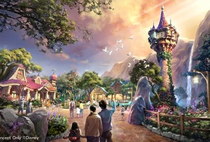 2022年度開業予定!東京ディズニーシーに『アナと雪の女王』『塔の上のラプンツェル』『ピーター・パン』の世界を再現するエリアが新設