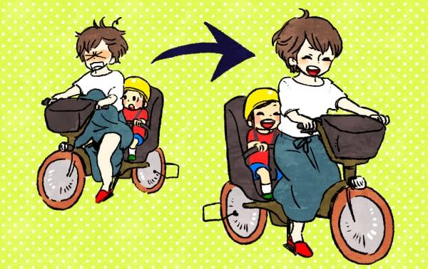72a5593115fe3 この悩みに、ママたちからたくさんの知恵が集まりました。これで明日から、スカートを履いて快適な自転車ライフが送れる……かも?
