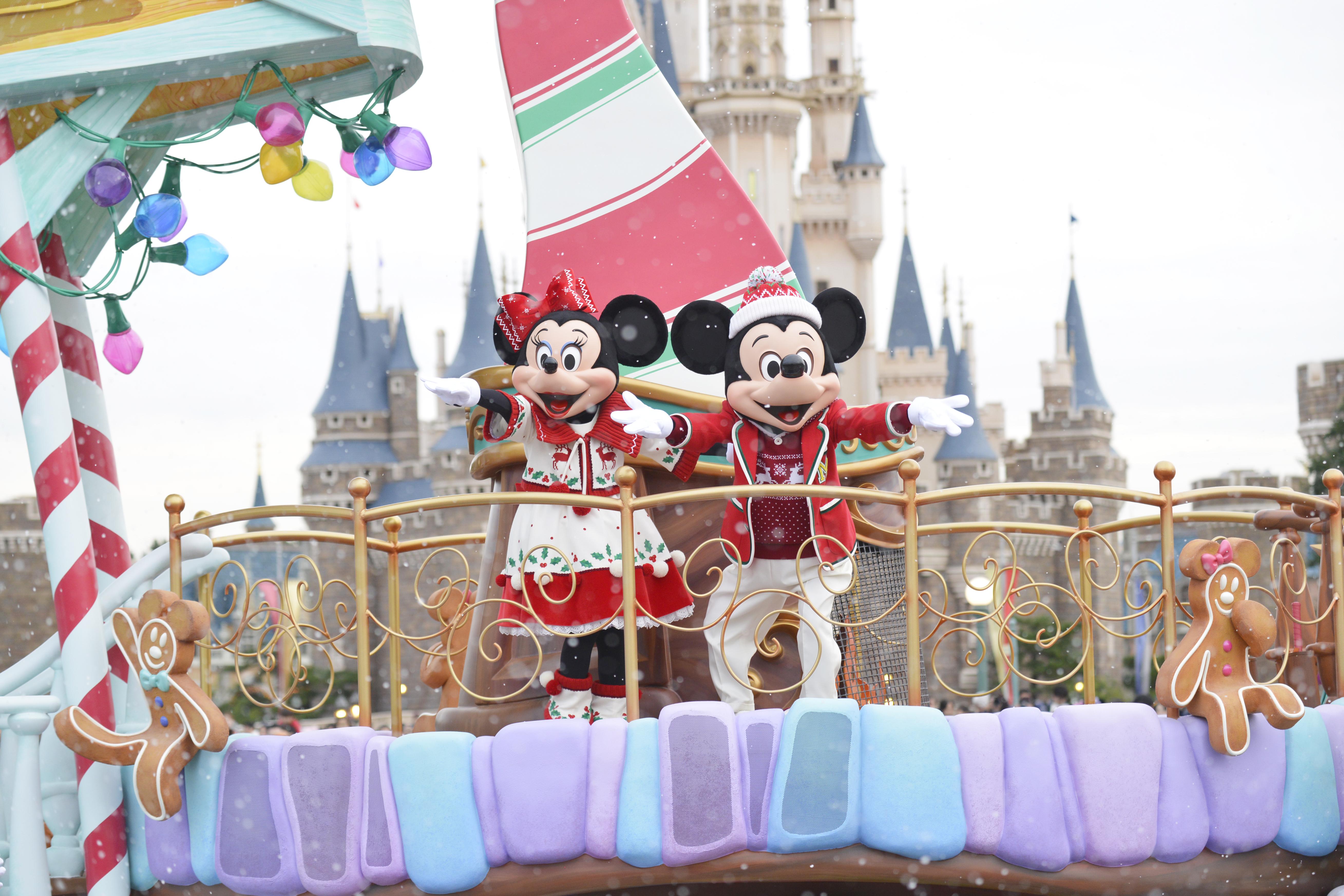 東京ディズニーランドの35周年クリスマス!アニバーサリーイヤーならでは