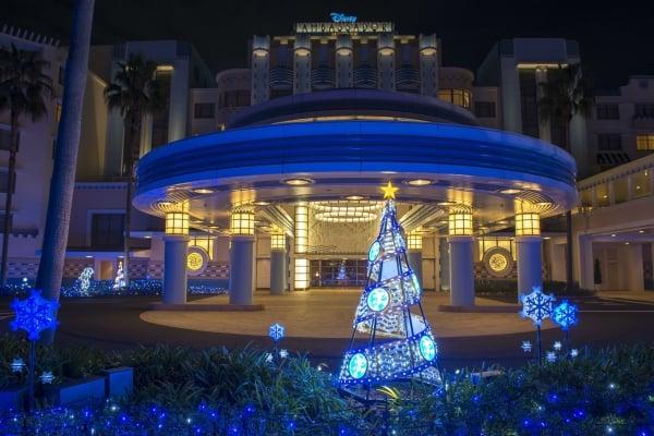 ディズニーアンバサダーホテルのイルミネーション