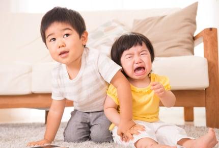 上の子が下の子を叩いた!「叩いちゃダメ」以外の効果的な3つの伝え方