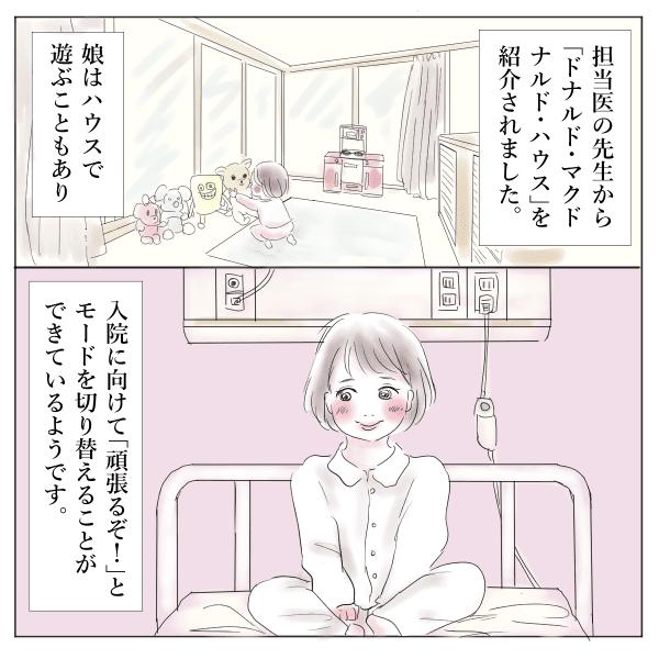 【マクドナルドハウス】漫画2