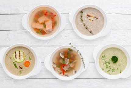 スープのレパートリーが少ない!「5分で出来る簡単スープ」と残り野菜で作る「基本のポタージュ」
