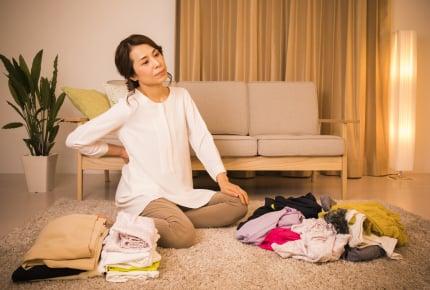 洗濯物を畳んでしまうのが面倒くさい!そのままじゃダメ!?面倒くさがりさんが洋服を収納する方法