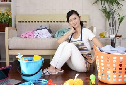 専業主婦から働く主婦になった途端、毎日家の中がぐちゃぐちゃに!お悩み解決に向けたママたちの「4つの極意」とは