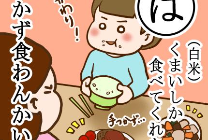 白米しか食べない子ども、成長したらおかずを食べるようになるの?子どもの好き嫌いは「味見知り」だった! #産後カルタ