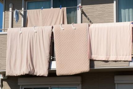 ベッドを使っている人、マットレスを外に干している?天日干し以外の清潔なお手入れ方法2つ