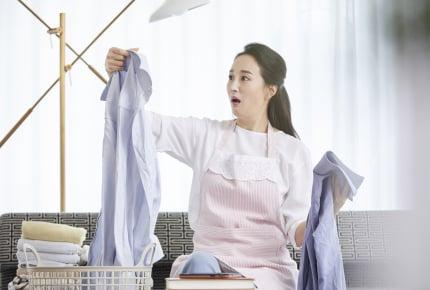 新しい服を洗濯したら白シャツに色移り!落とす方法はある?