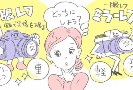 一眼レフとミラーレス、どちらを選ぶ?初心者ママの「カメラの選び方」とは