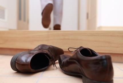 旦那が靴を玄関に脱ぎっぱなしにする!片付けない旦那さんへの対処法