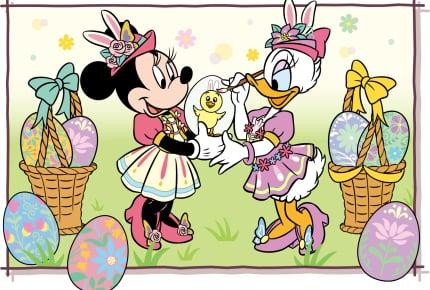 """4月4日(木)から「ディズニー・イースター」東京ディズニーシーの""""うさピヨ""""と東京ディズニーランドの""""うさたま""""どちらに会いに行く?"""