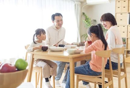 家族そろって食事する回数が多いと子どもは働くパパ・働くママに良いイメージを持つ!?