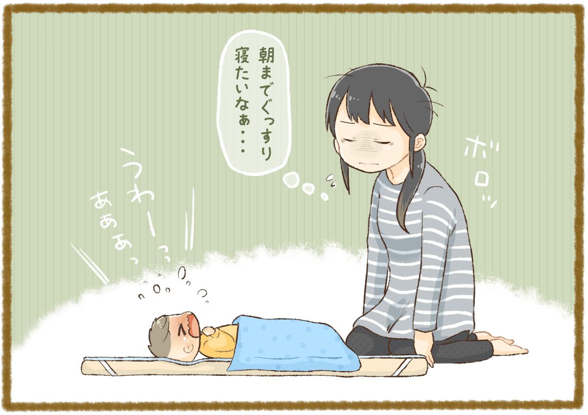 時間 ヶ月 生後 7 睡眠