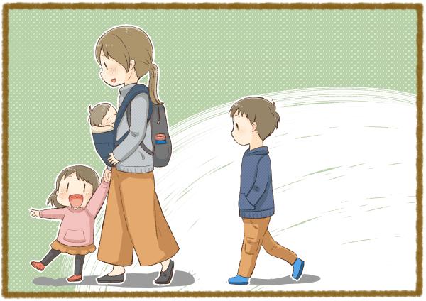 上の子 ママ